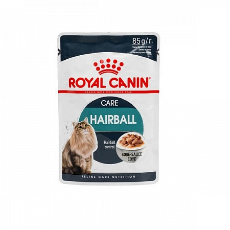 ROYAL CANIN д/к м/п Хэйрболл кэа в соусе 85гр